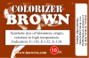 COLORIZER - e-liquid colouring dye: brown