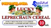 """LUCKY LEPRECHAUN CEREAL"""